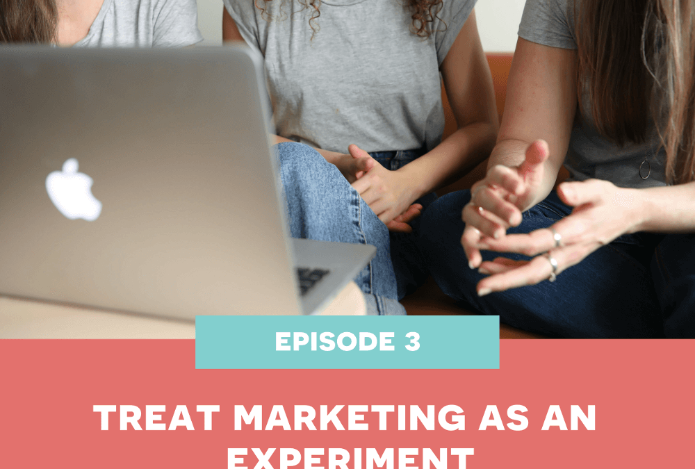 3: Treat Marketing as an Experiment