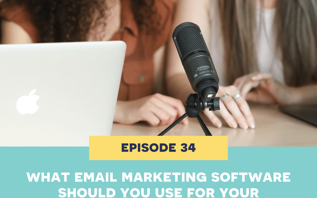 34: What email marketing software should you use for your handmade shop?