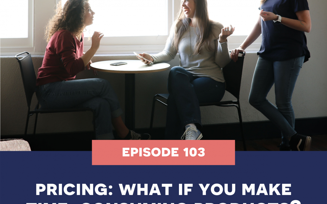 103: Pricing – what if your products are time consuming to make?