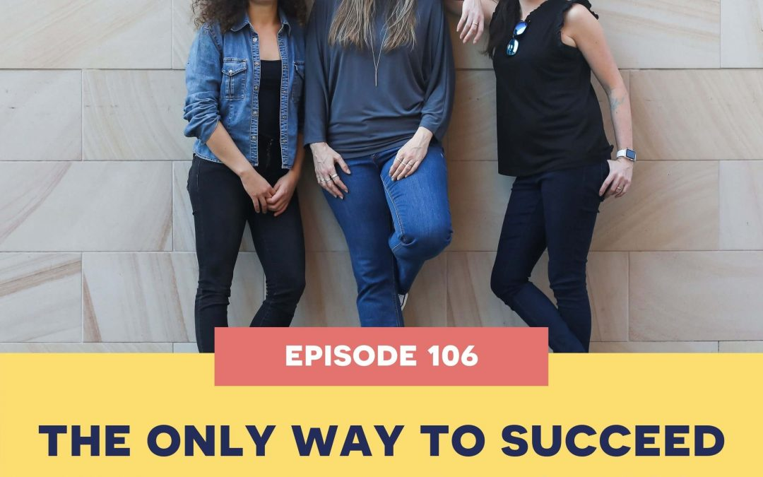 106: The ONLY way to succeed in a handmade business